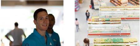 マネキンに対する接客調査サービス イメージ画像