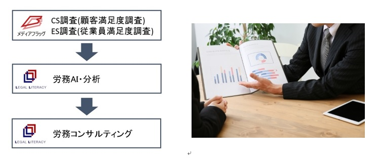 調査+労務コンサルティングサービスイメージ画像