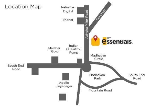 「MADHAVAN PARK店」Map