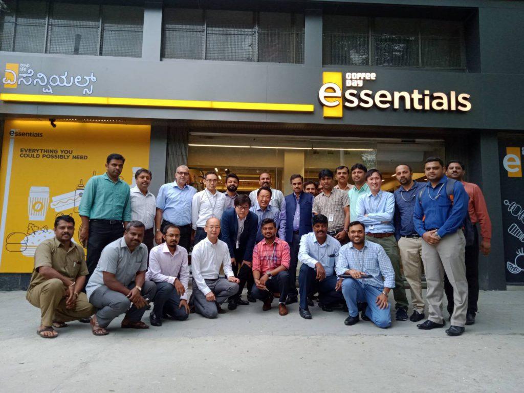 インド・コンビニ事業 プロジェクトメンバー集合写真