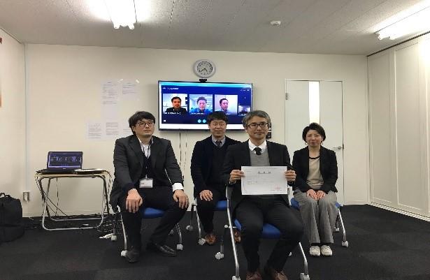 FC新潟 増澤昌人氏(2020年3月24日 調印式画像)