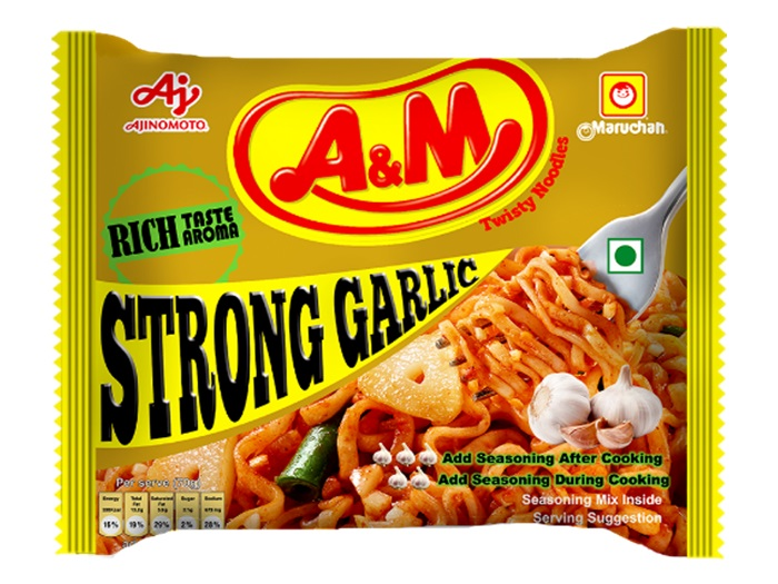 STRONG GARLIC味