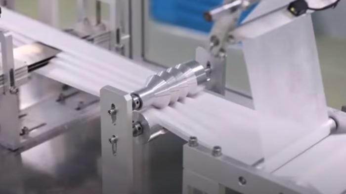 不織布マスク生産工場1
