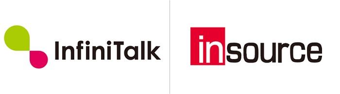 InfiniTalk×インソース ロゴ